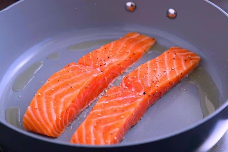 How to Pan Sear Salmon with Skin or Without