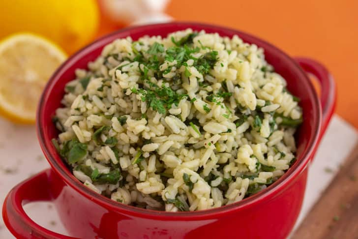 How to Make Spinach Rice with Instant Rice