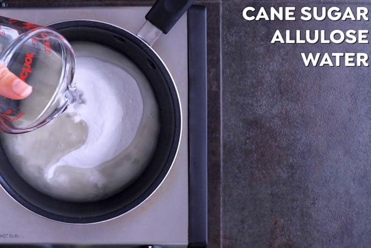 How to Make Keto Simple Syrup with Allulose