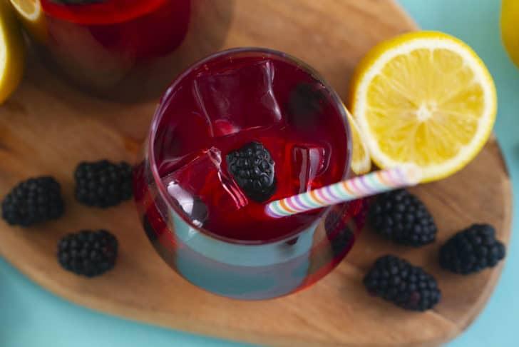 How to make hibiscus lemonade