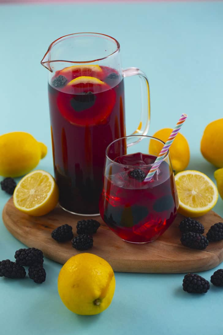 Very Berry Hibiscus Lemonade Recipe