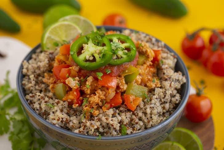 Meal Prep Burrito Bowl