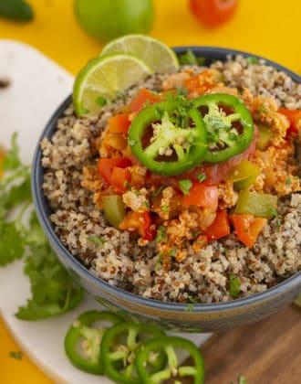 Chicken Burrito Bowl Recipe