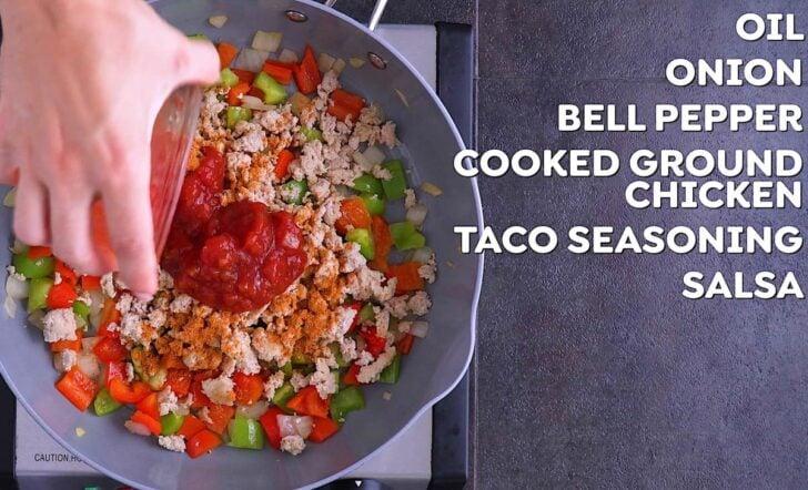 Healthy Chicken Burrito Bowl Recipe