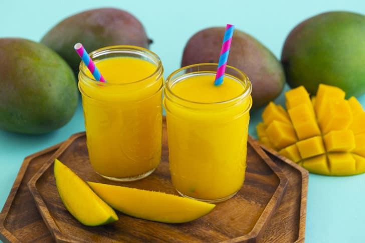 How to make mango juice without a juicer