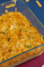 Baked Spaghetti Mac and Cheese