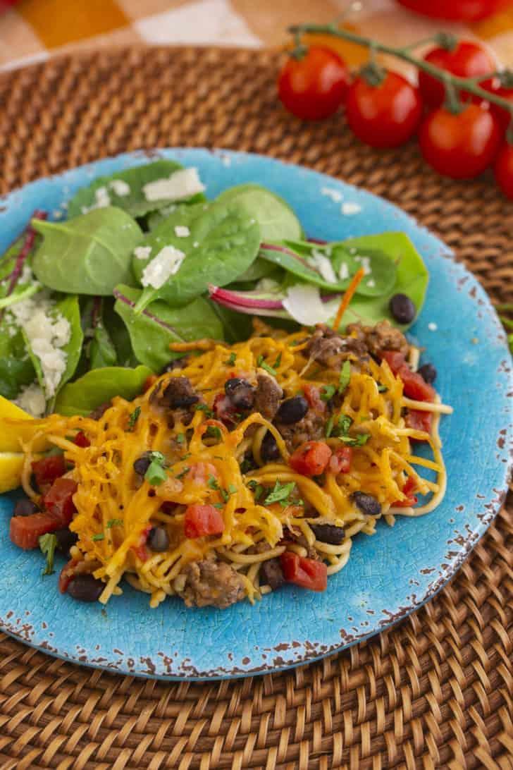 Taco Spaghetti Recipe