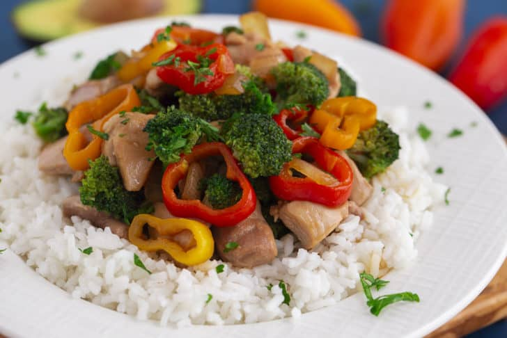 Teriyaki Chicken Rice Bowl
