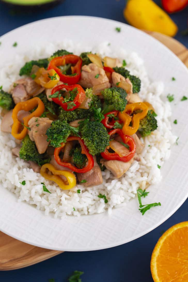 Meal Prep Teriyaki Chicken Bowl