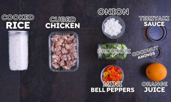 How to Meal Prep a Teriyaki Bowl