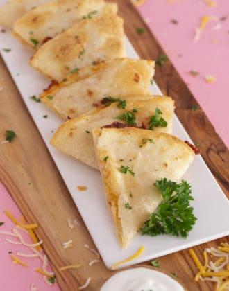 Air Fryer Quesadilla Recipe