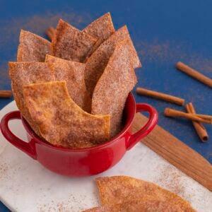 Cinnamon Sugar Bunuelos Chips