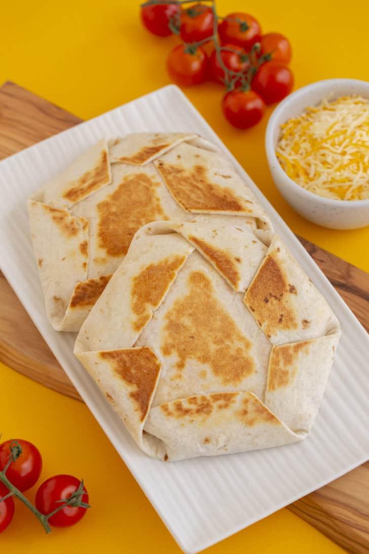 Homemade Breakfast Crunchwrap