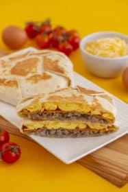 Breakfast Crunchwrap Recipe