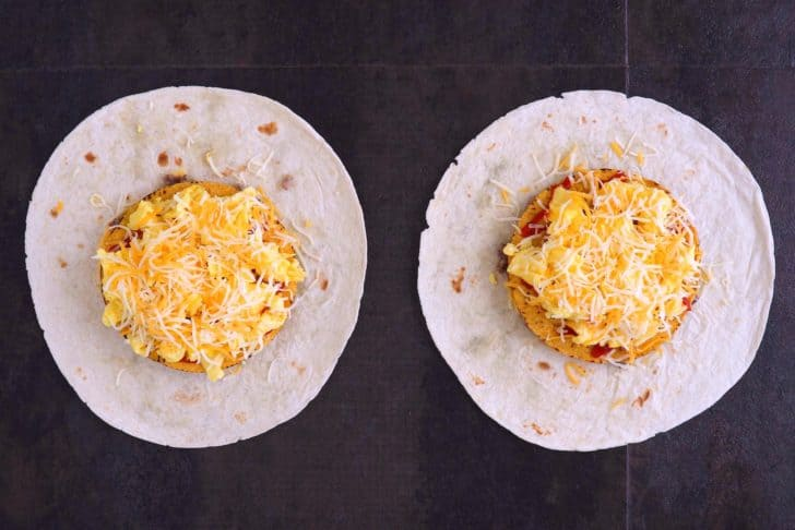 How to Make a Breakfast Crunchwrap with Sausage, Eggs & Cheese