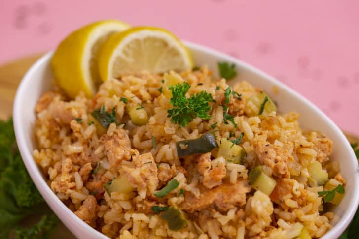 Easy Salmon and Rice Bowl
