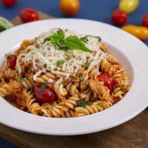 Easy Tuna Tomato Pasta