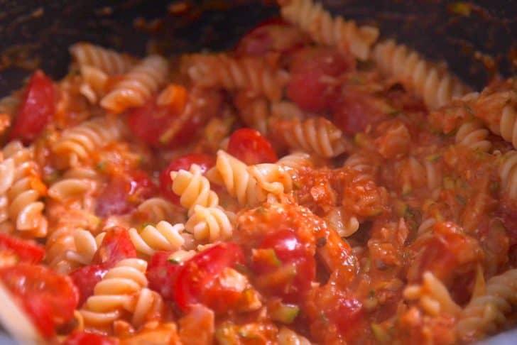 How to make tuna pasta