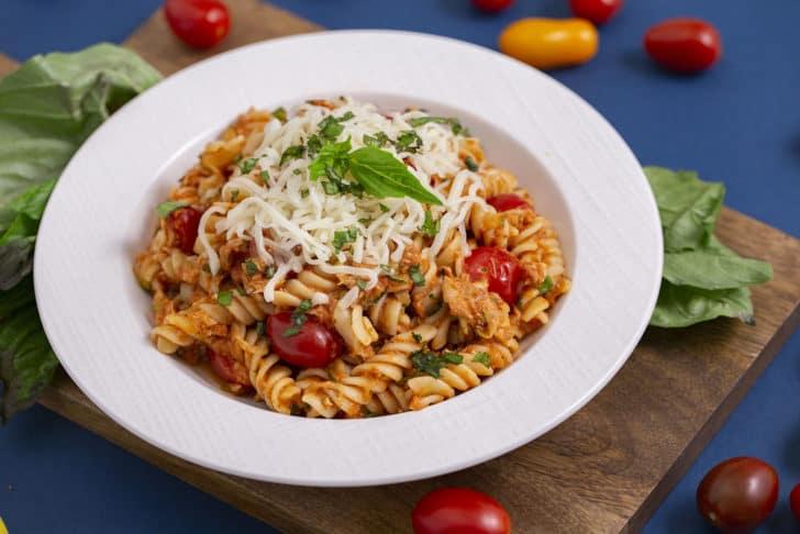 Canned Tuna Tomato Pasta Recipe