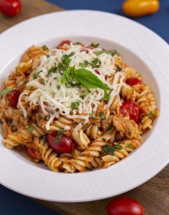 Tuna Tomato Pasta