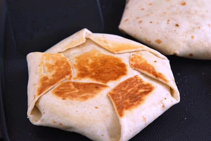 Cook for 3-5 minutes on each side, until golden brown.