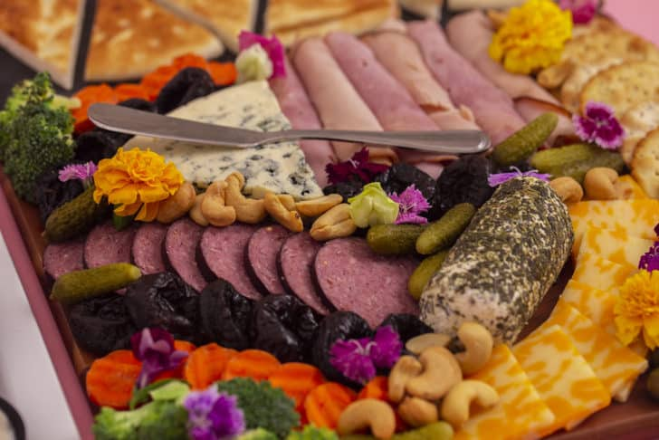 Basic Charcuterie Board Ingredients