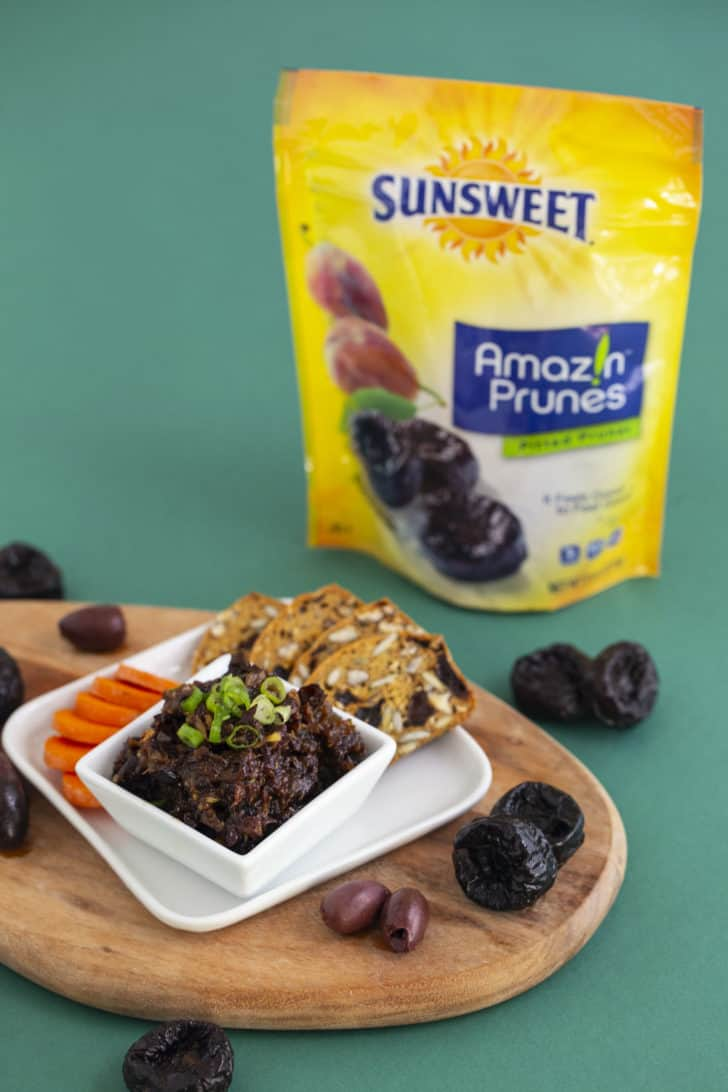 How to make olive prune tapenade