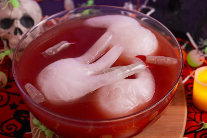 Red Halloween Blood Punch